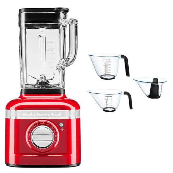 KitchenAid Artisan Empire Red K400 Blender with FREE Gift