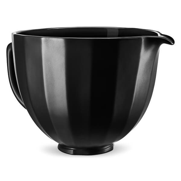 KitchenAid Ceramic 4.8L Mixer Bowl Ceramic Bowl Black Shell
