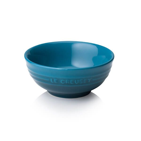 Le Creuset Deep Teal Stoneware Dip Bowl