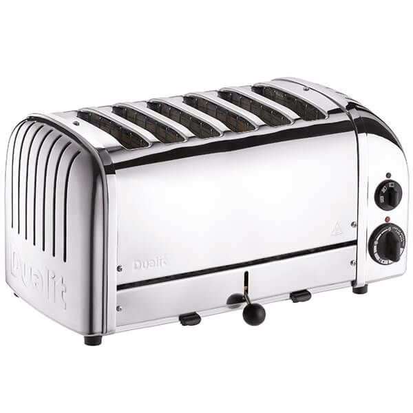 Dualit Classic Vario AWS Polished 6 Slot Toaster