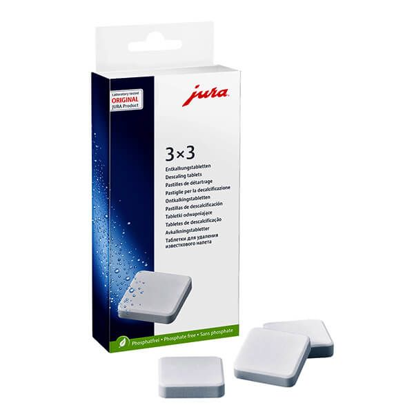 Jura Decalcifying Tablets Pack of 9