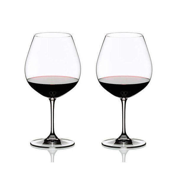 Riedel Vinum Pinot Noir (Burgundy Red) Wine Glass Twin Pack