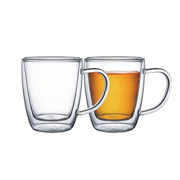 Tramontina Double Walled Cappuccino Glasses Pack Of 2