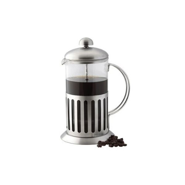 Apollo Stainless Steel Shock Proof Glass Cafetiere