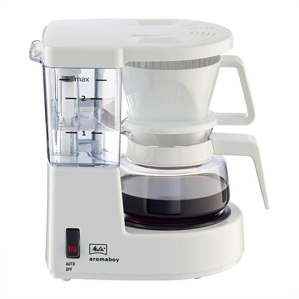 Melitta Aromaboy White Filter Coffee Machine 1015-01