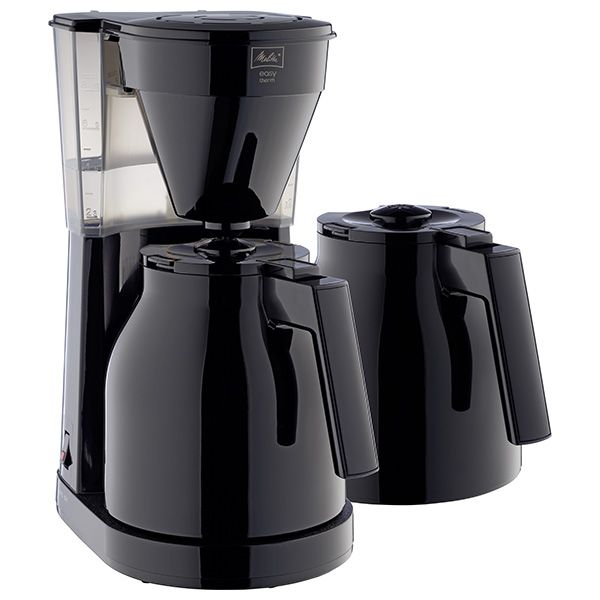 Melitta Easy Therm II Extra Jug 1023-06 Black Filter Coffee Machine