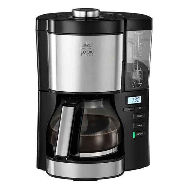 Melitta Look V Timer Black Filter Coffee Machine 1025-08