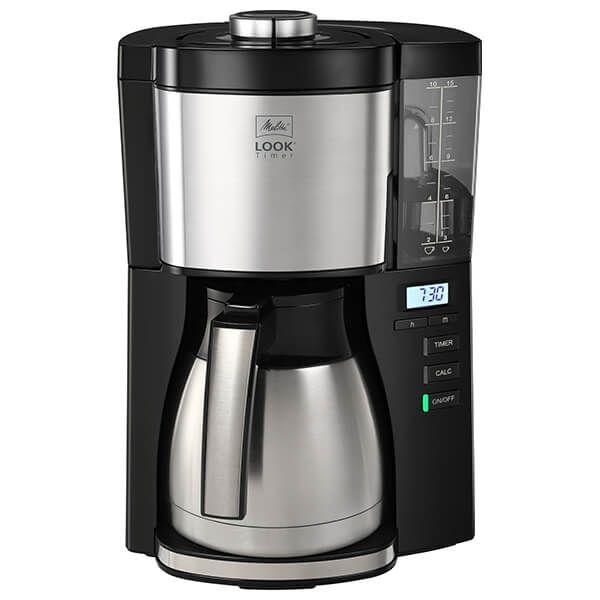 Melitta Look V Therm Timer Black Filter Coffee Machine 1025-18