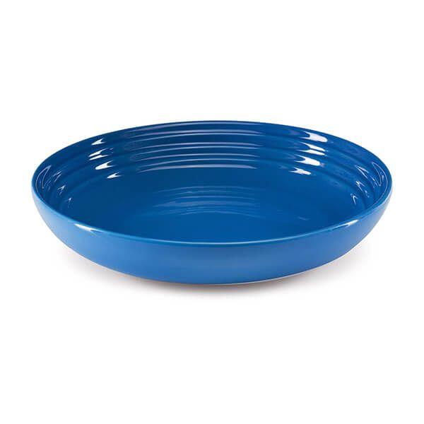 Le Creuset Marseille Blue Stoneware 22cm Pasta Bowl