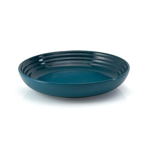 Le Creuset Deep Teal Stoneware 22cm Pasta Bowl