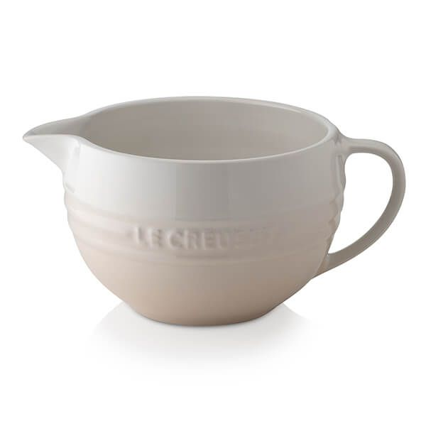 Le Creuset Meringue Stoneware Mixing Jug