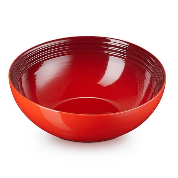 Le Creuset Cerise Stoneware 24cm Serving Bowl