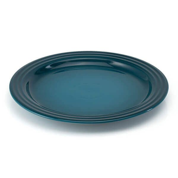 Le Creuset Deep Teal Stoneware 27cm Dinner Plate