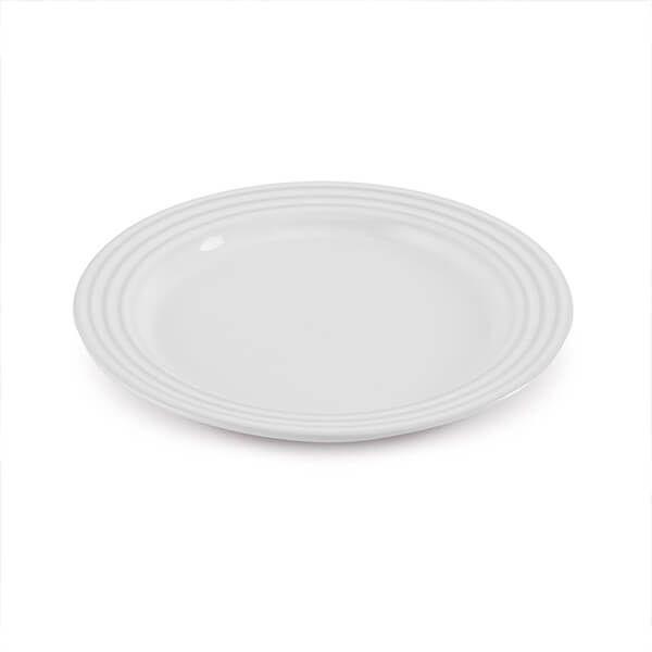 Le Creuset White Stoneware 22cm Side Plate
