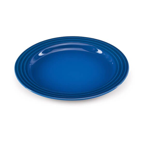 Le Creuset Marseille Blue Stoneware 22cm Side Plate