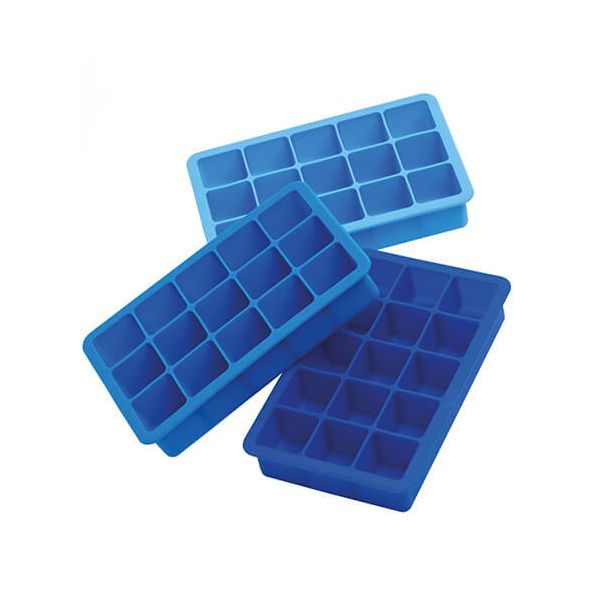 Epicurean Barware Triple Pack Classic Ice Cube Tray