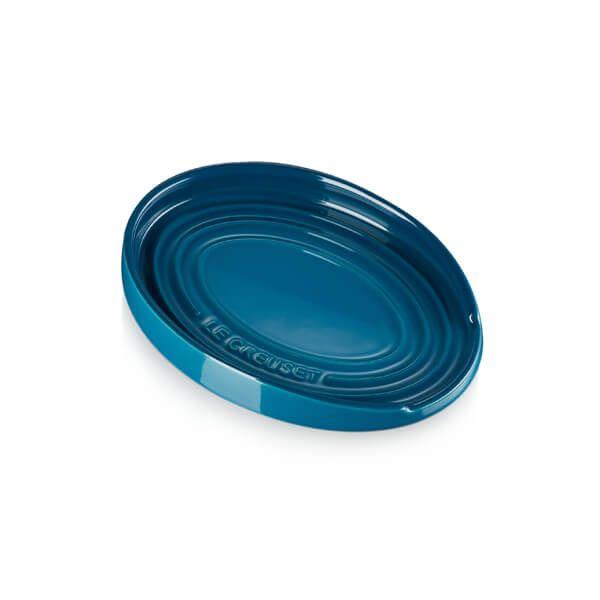 Le Creuset Deep Teal Stoneware Spoon Rest