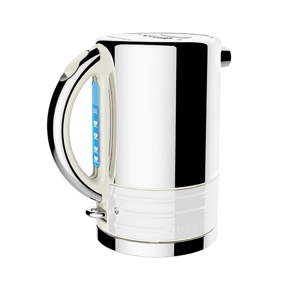 Dualit Architect Canvas and White Kettle