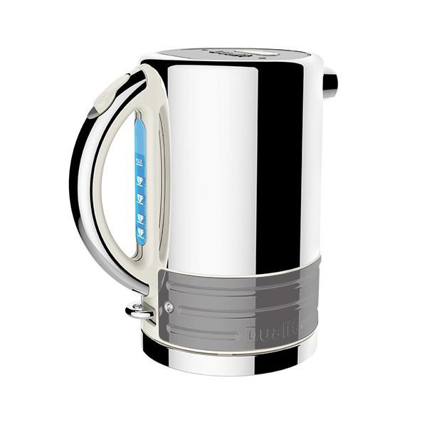 Dualit Architect Canvas and Metallic Silver Kettle