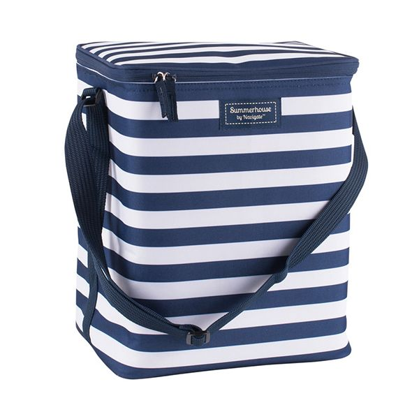 Navigate Coast Upright Family Cool Bag Navy And White