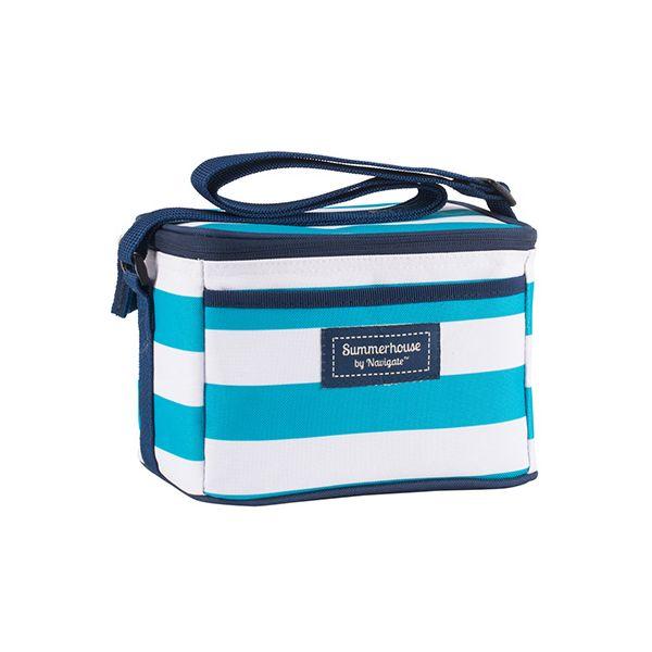 Navigate Coast Personal Cool Bag Aqua And White