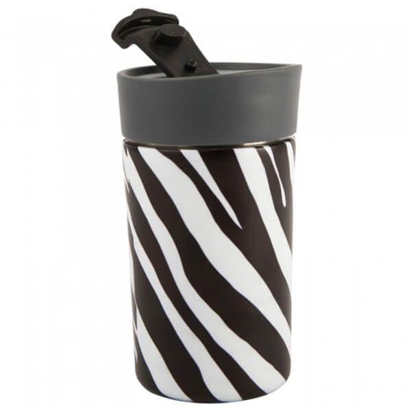 Navigate Madagascar 300ml Travel Mug Zebra Stripe