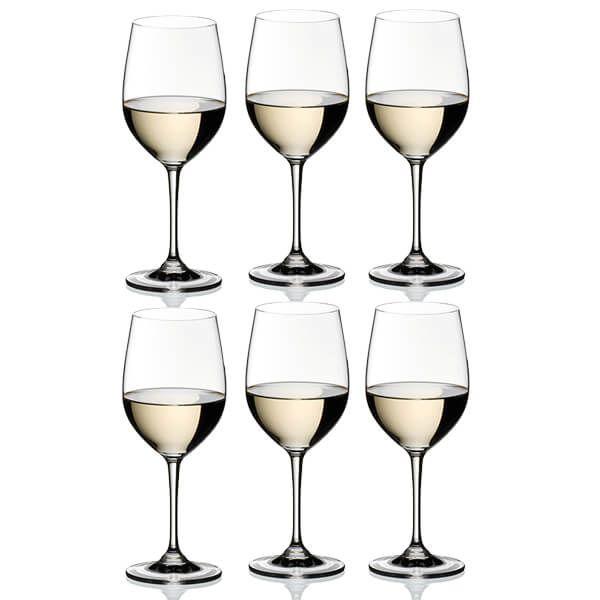 Riedel Vinum Viognier / Chardonnay Wine Glasses Set Of 6
