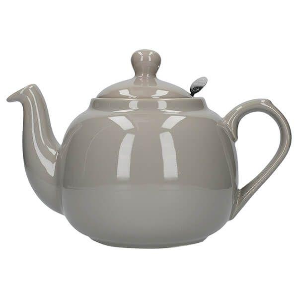 London Pottery Farmhouse Filter 6 Cup Teapot Grey