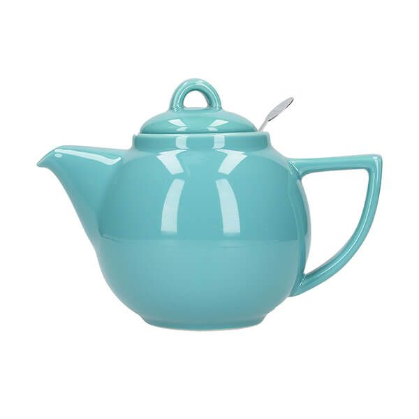 London Pottery Geo Filter 2 Cup Teapot Carribean