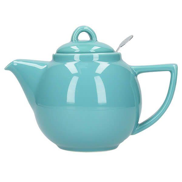 London Pottery Geo Filter 4 Cup Teapot Carribean