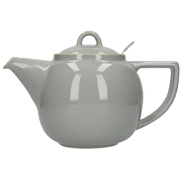 London Pottery Geo Filter 4 Cup Teapot Cobblestone