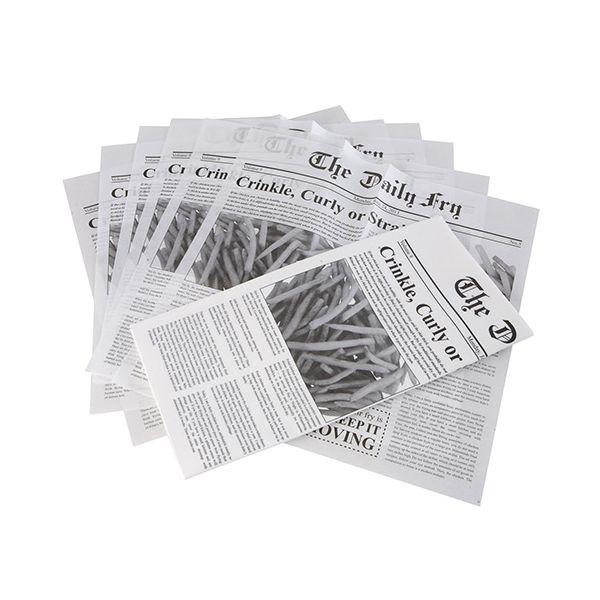 Eddingtons Chip Cone Paper Refil Pack 48