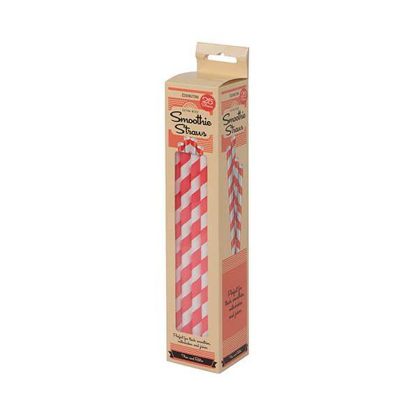 Eddingtons Paper Smoothie Straws 25 Pack