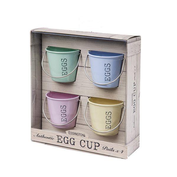 Eddingtons Pastel Shades Bucket Egg Cups Set Of 4