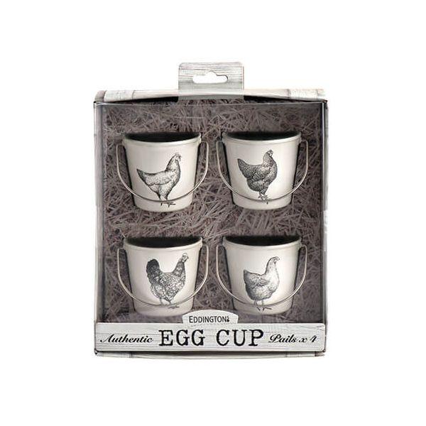 Eddingtons Vintage Hens Set Of 4 Egg Cups
