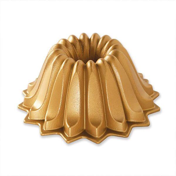 Nordic Ware Lotus Bundt Pan Gold