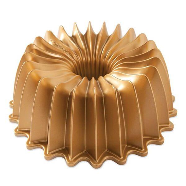 Nordic Ware Brilliance Bundt Pan Gold