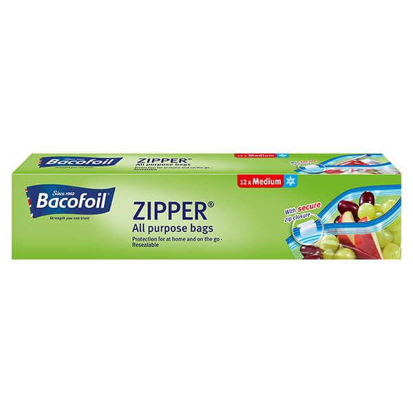 Bacofoil 12 x 3L Zipper Bags