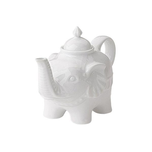 BIA Elephant Teapot White