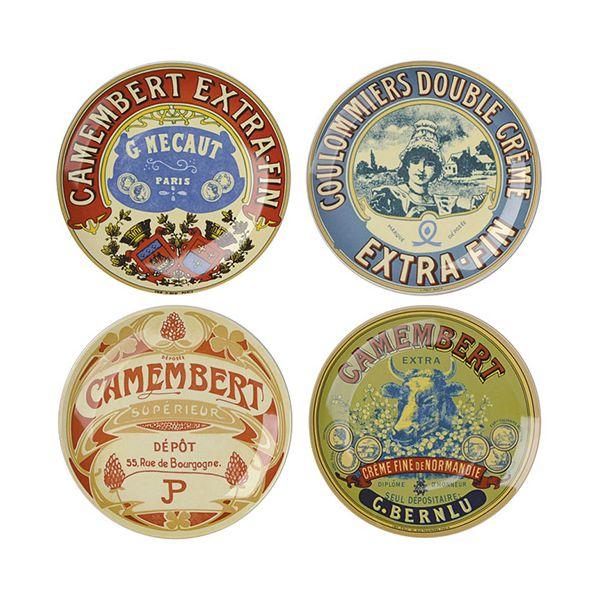 Camembert Plates