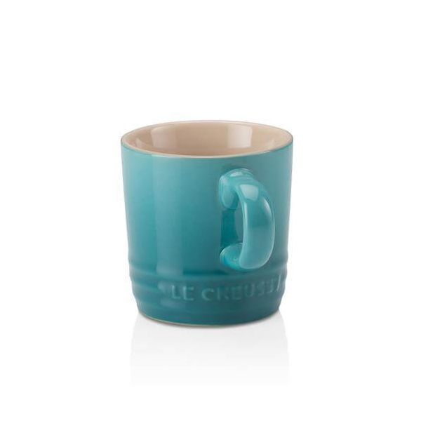 Le Creuset Teal Stoneware Espresso Mug