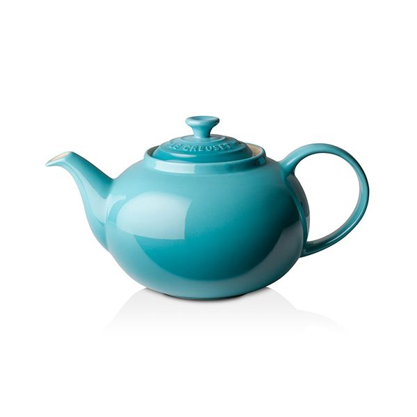 Le Creuset Teal Stoneware Classic Teapot