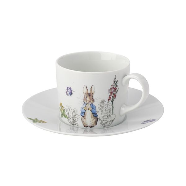 Peter Rabbit Classic Cup and Saucer