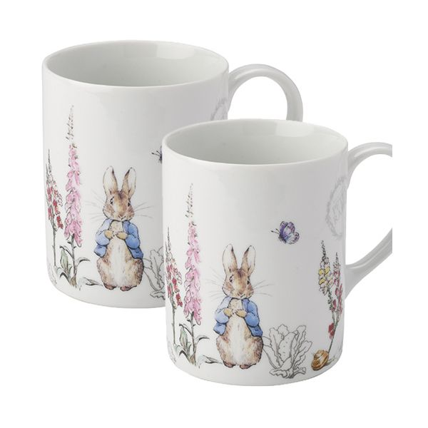 Peter Rabbit Classic Mugs Set Of Two