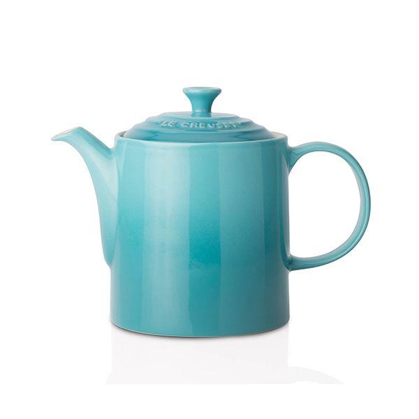 Le Creuset Teal Stoneware Grand Teapot