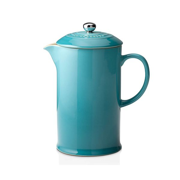 Le Creuset Teal Stoneware Cafetiere