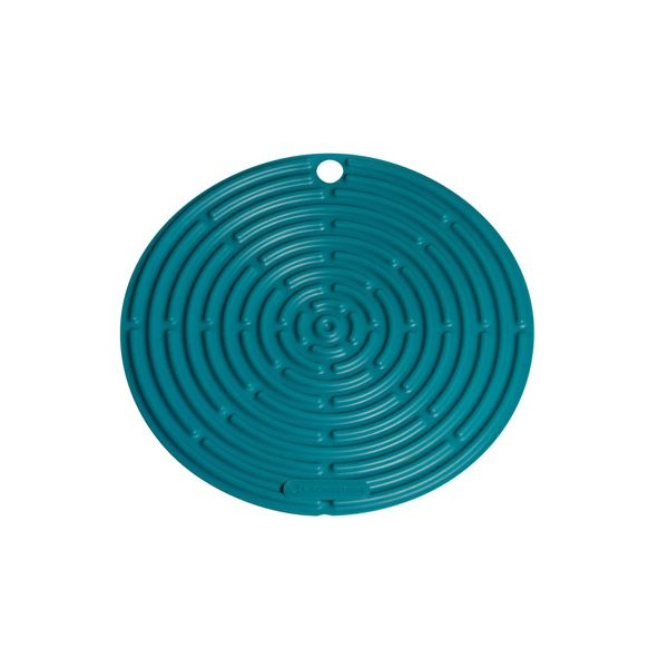Le Creuset Teal Round Cool Tool