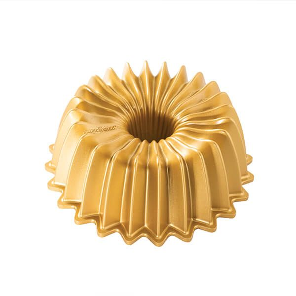 Nordic Ware Gold 5 Cup Brilliance Bundt Pan