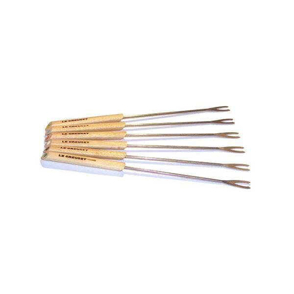 Le Creuset Gourmand Fondue Forks X 6