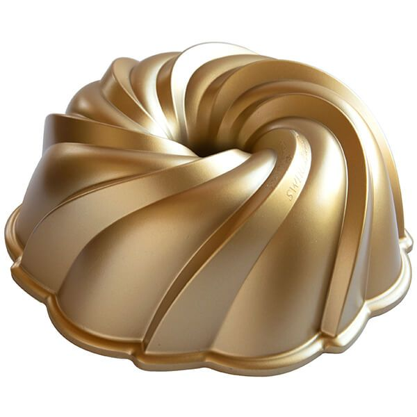 Nordic Ware Gold Swirl Bundt